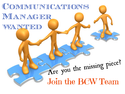 Join Our Team: Communications Manager Wanted