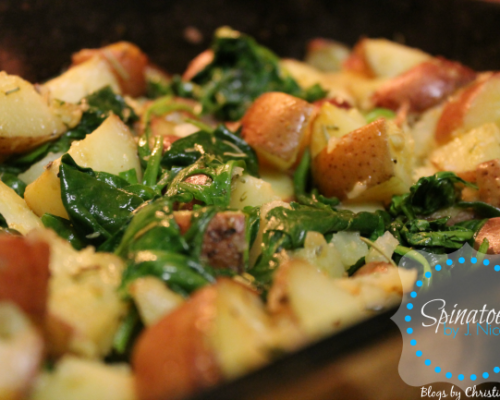 Spinatoes (Potatoes & Spinach) Recipe