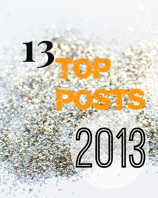 13 Popular Post in 2013
