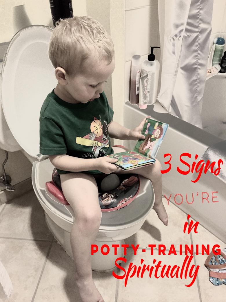 spiritual potty training | Blogs by Christian Women