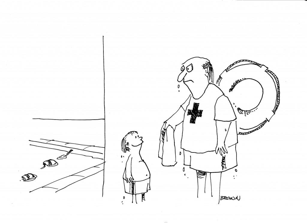 Lifeguard Cartoon