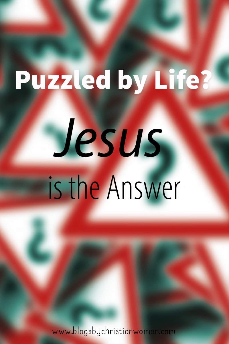 Jesus is the answer to life questions