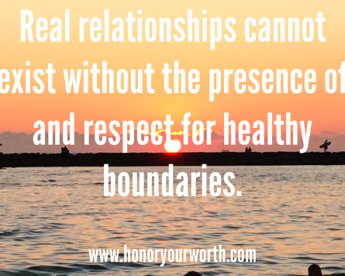 Setting Healthy Boundaries