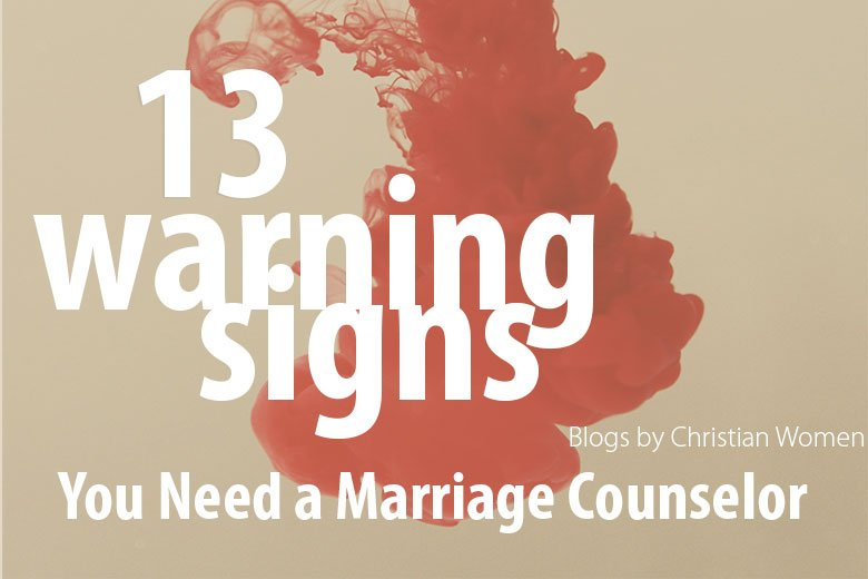 Marriage warning signs