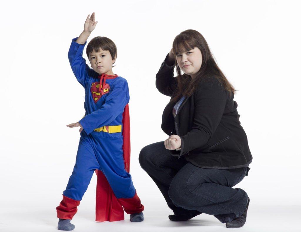Moms are superheros too