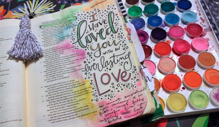 Give Your Study Time a Fresh Start With Bible Journaling