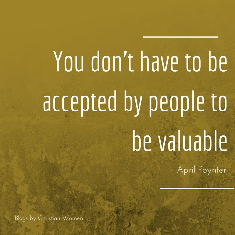 God declares you valuable