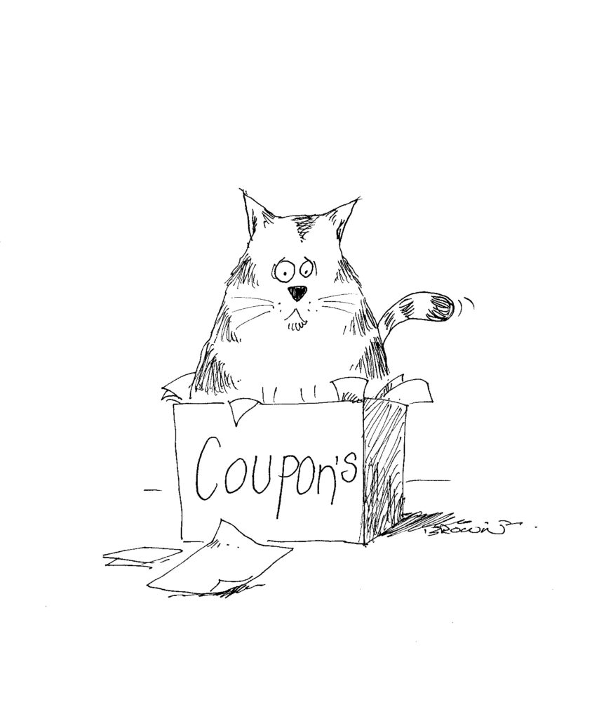 The Coupon Cat