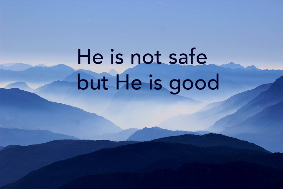 He is Not Safe, But Good