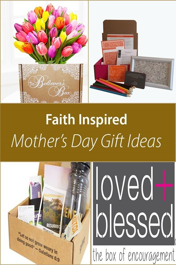 Faith Inspired Subscription Box Mothers Day Gift ideas