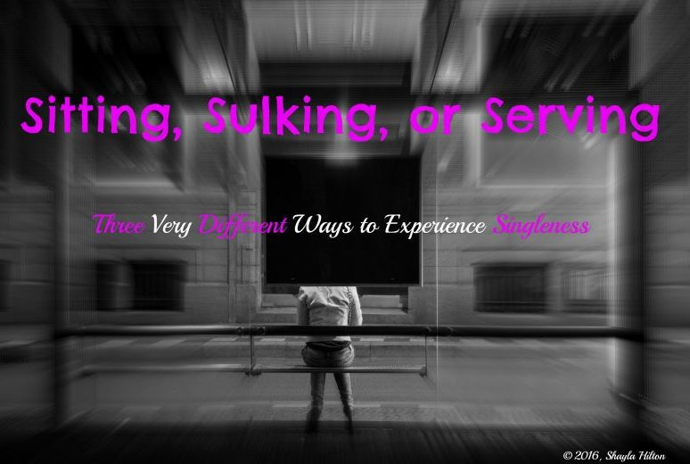 Sitting, Sulking, or Serving