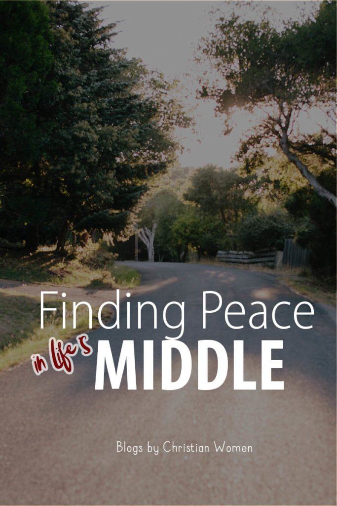finding peace in life's middle