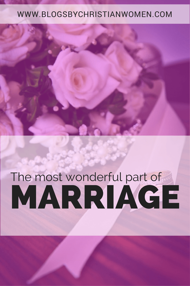 Discovering the best part of marriage