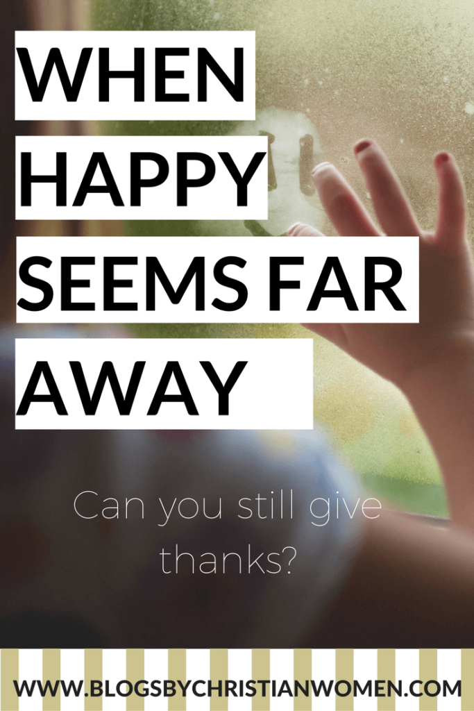 How to find thanks within during life's difficult times
