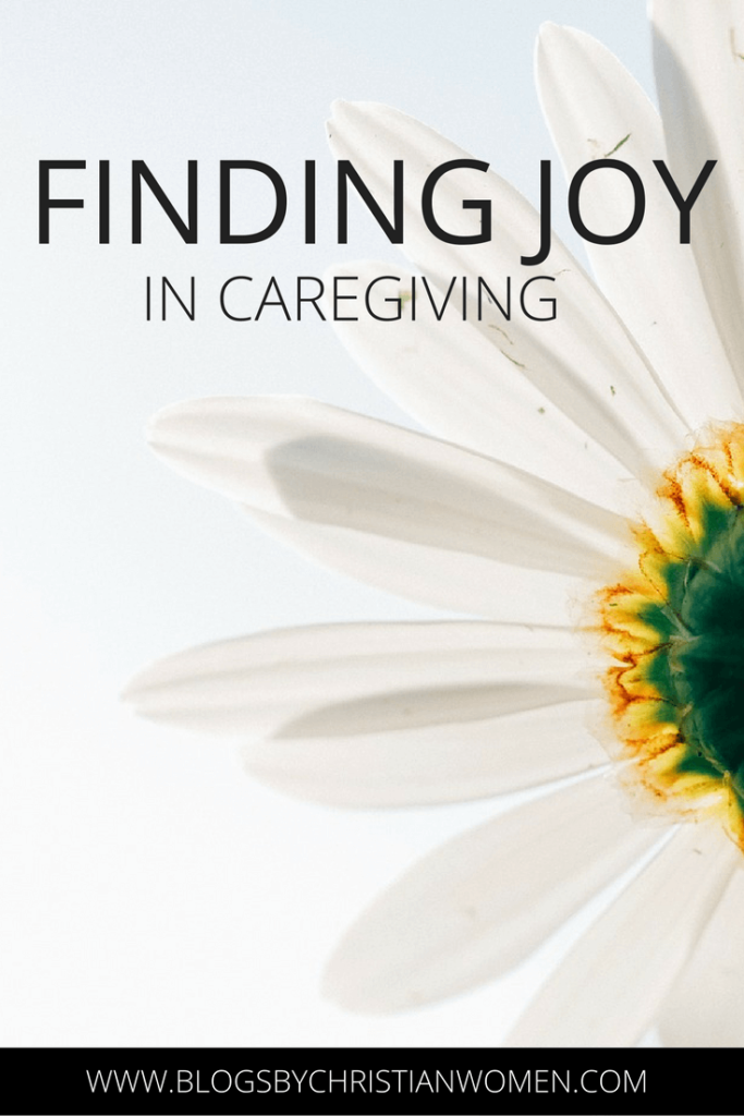 Finding Joy in the Stress of Caregiving