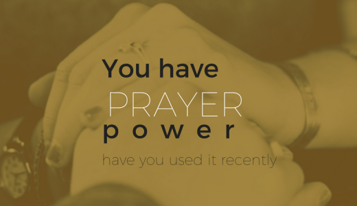 There is Power in Prayer
