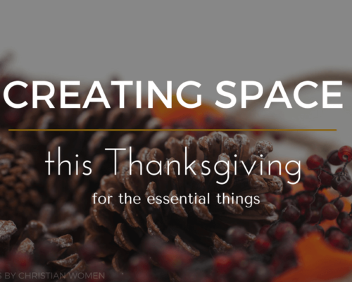 Making Room for Praise this Thanksgiving