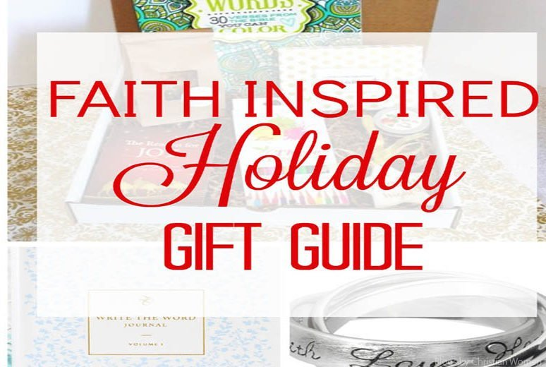 Holiday Gift Guide | Faith Inspired