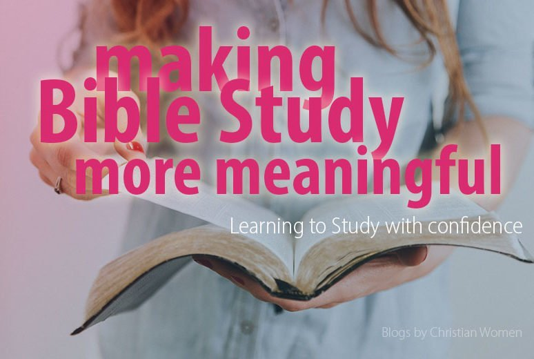 Keys to Studying the Bible With Confidence