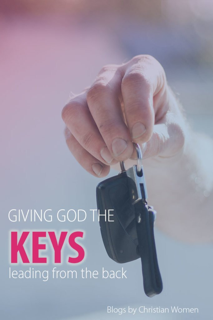 Handing God the Keys | The back seat driver