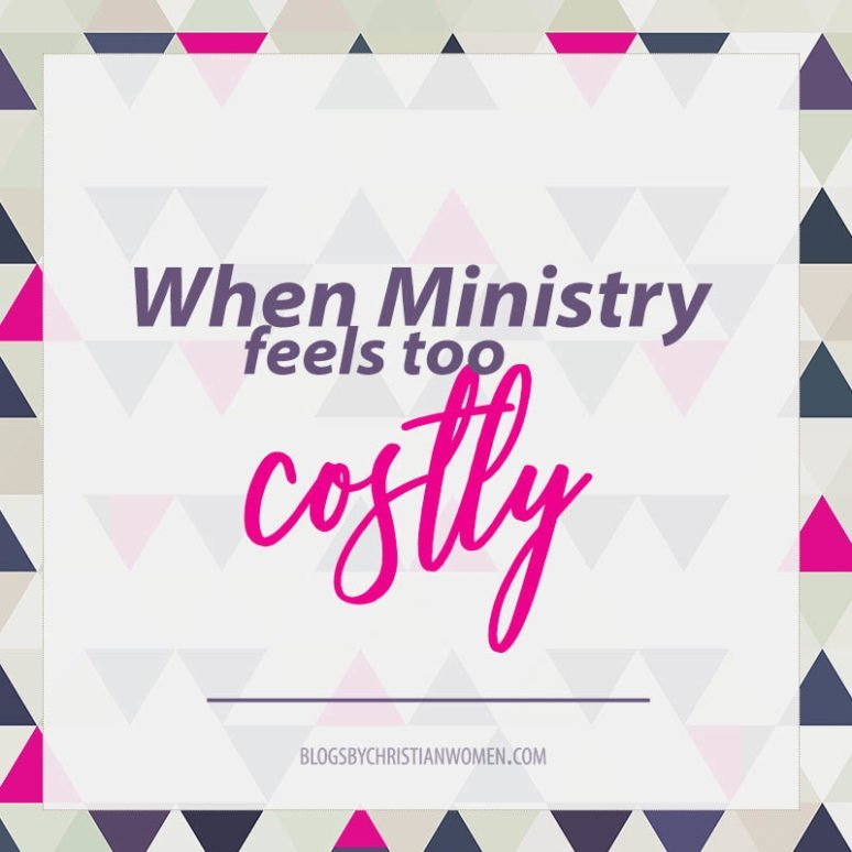 When Ministering to Others Feels Too Costly