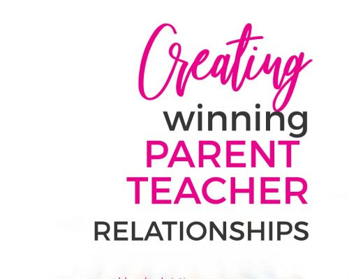 Kids Win When Teachers and Parents Team Up