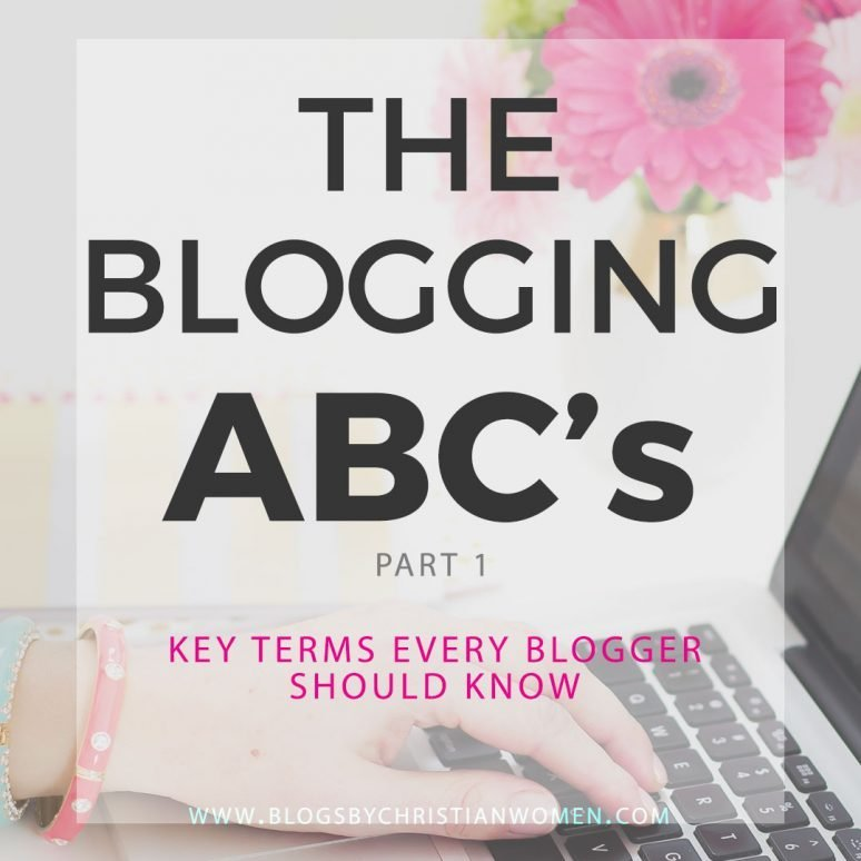 Blogging A to Z | Key Terms You Should Know