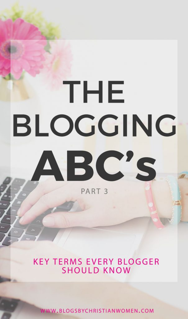 Key Blogging Terms New Bloggers Should Know