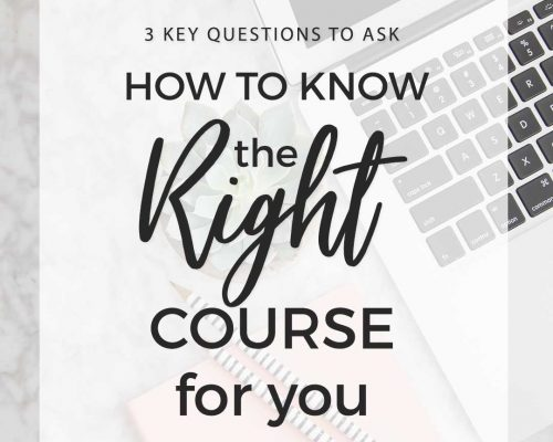 3 Things to Consider Before Buying a Course