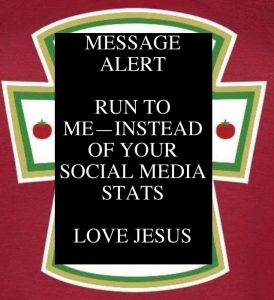 Run to Jesus not social media stats