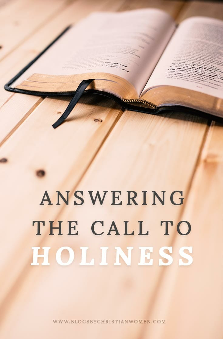 Answering God's Call to Holiness