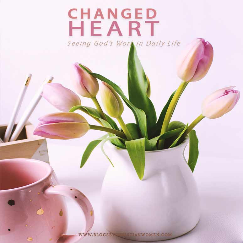 A Changed Heart on Display