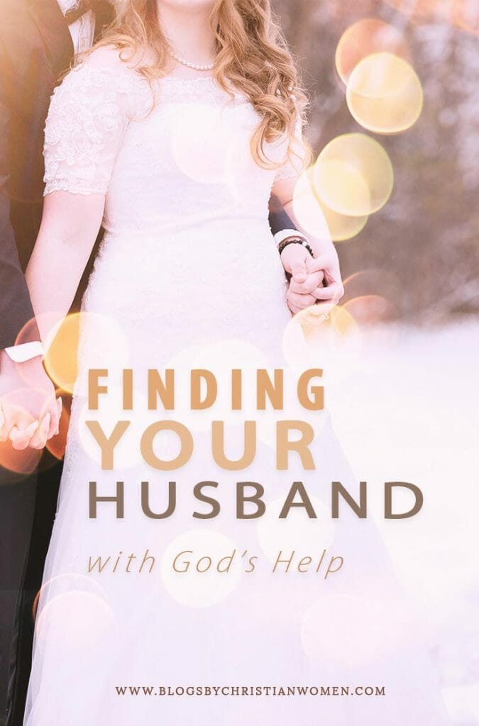 Woman in wedding gown with her husband | Can God help you find your mate