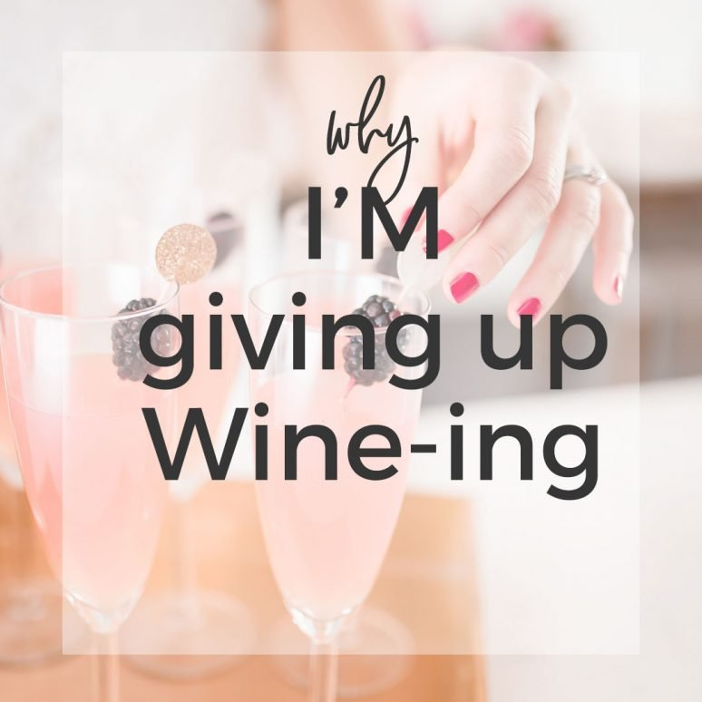 Maybe I Should Stop Wine-ing