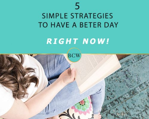 How to Have a Better Day Starting Right Now