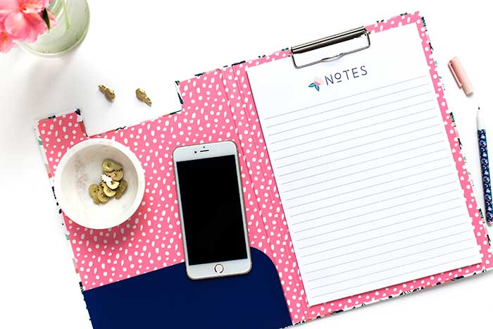 Planner/Agenda Notes pages | 6 types of planners you can use