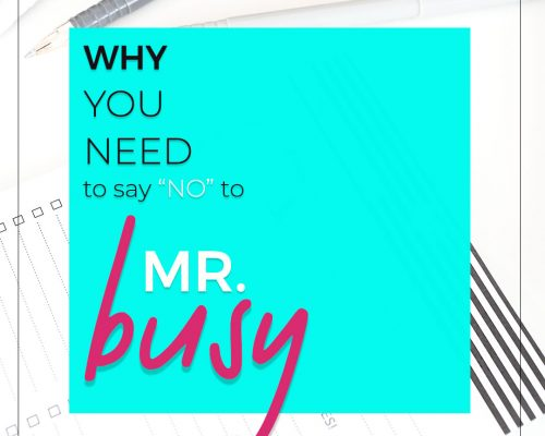 Mr. Busy Makes a Bad Boss