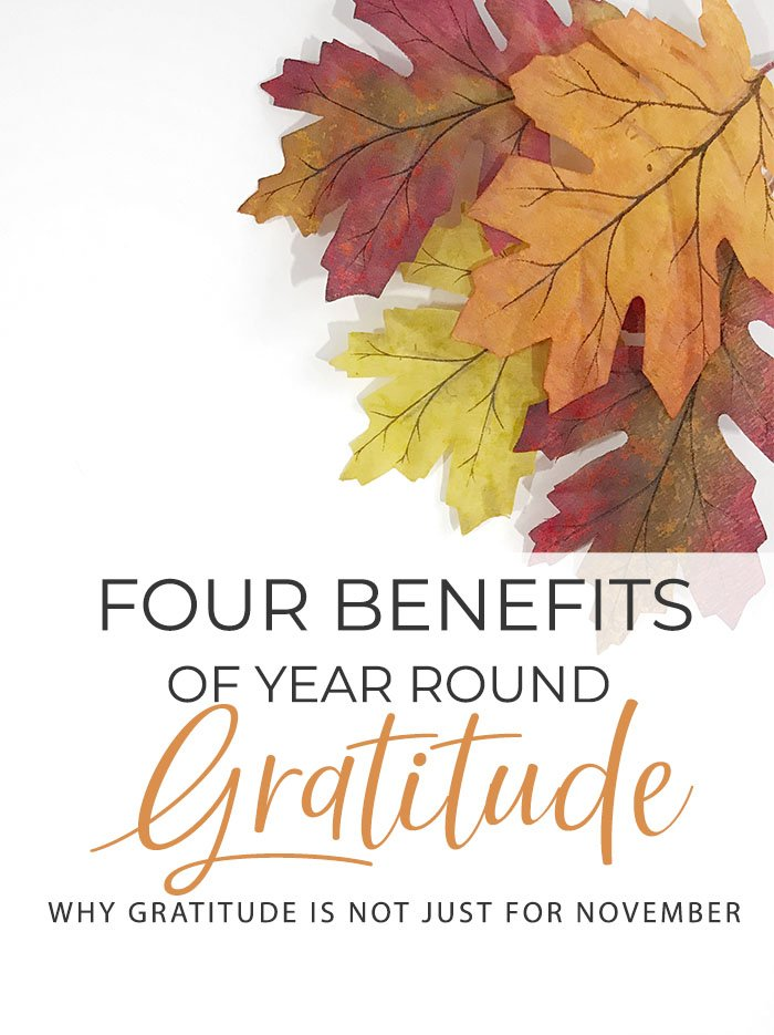 Why Year-Round Gratitude is Important