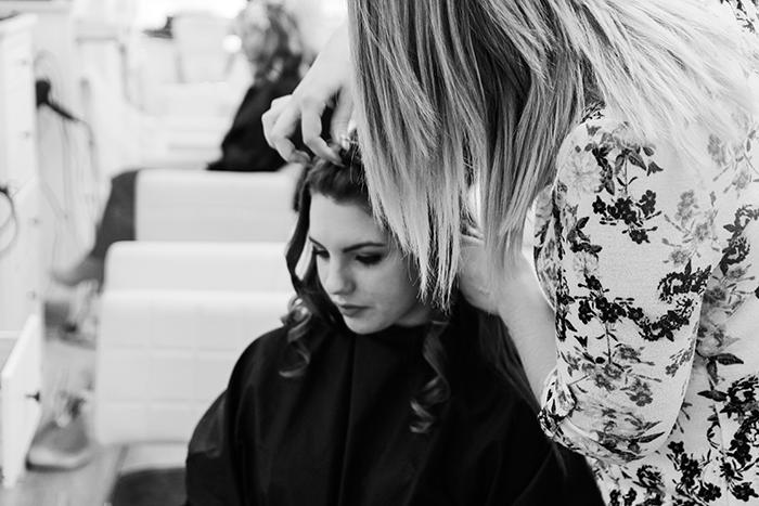 Women at Hair Salon