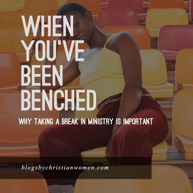 Why it's time to take the sidelines in ministry