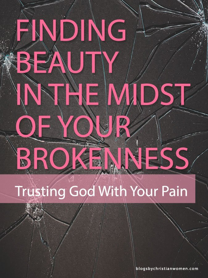 In a world that embraces perfection it can be difficult to see the beauty in brokenness. But it's not necessary for us to hide our brokenness from God.