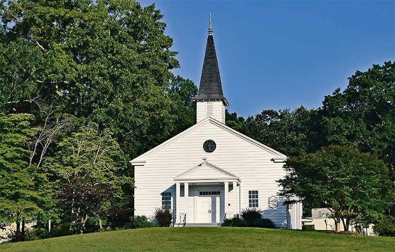 Traditional Style Church Building