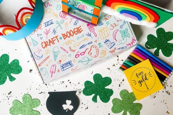 Arts and craft subscription box for children